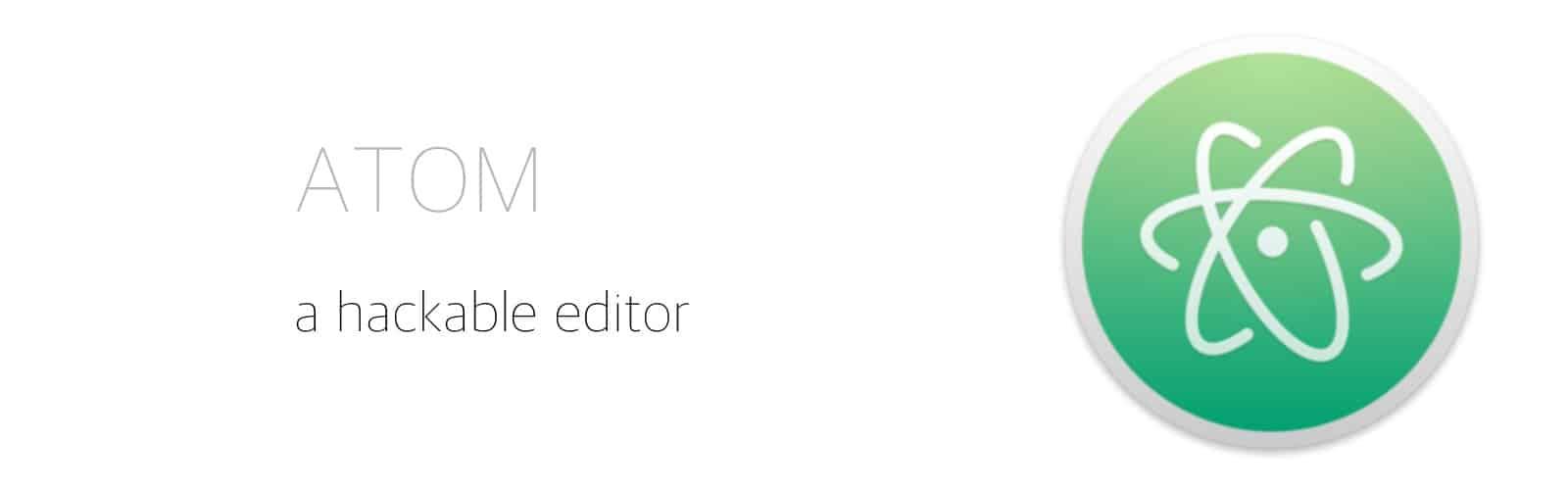 Atom, den enda editor du behöver
