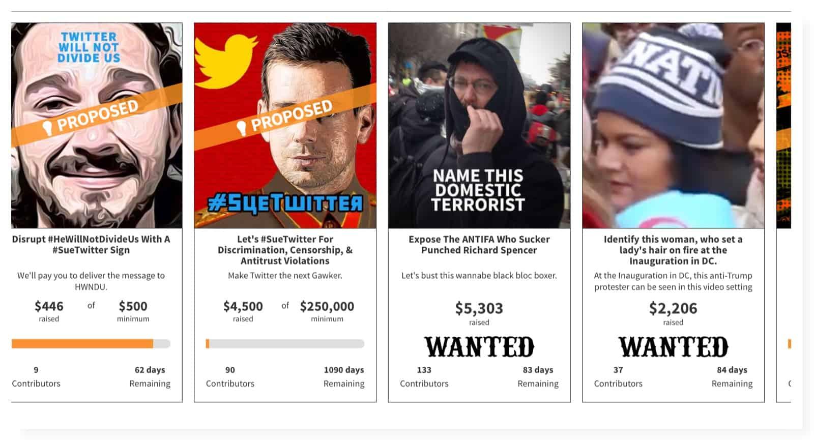 Alt-Right samlar in pengar för attack mot Twitter