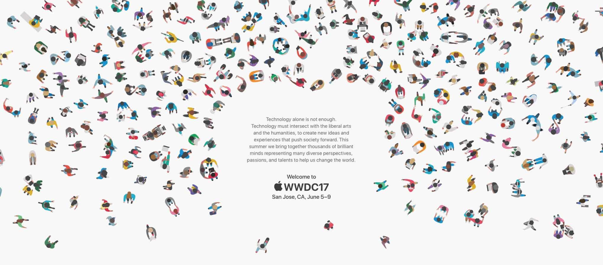 Apple bjuder in till WWDC 2017