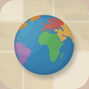 Ett kartspel för att lära dig geografi