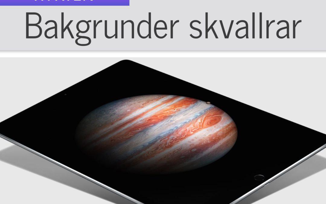 Nya bakgrunder kan tyda på uppdatering av iPad Pro 12.9-tum
