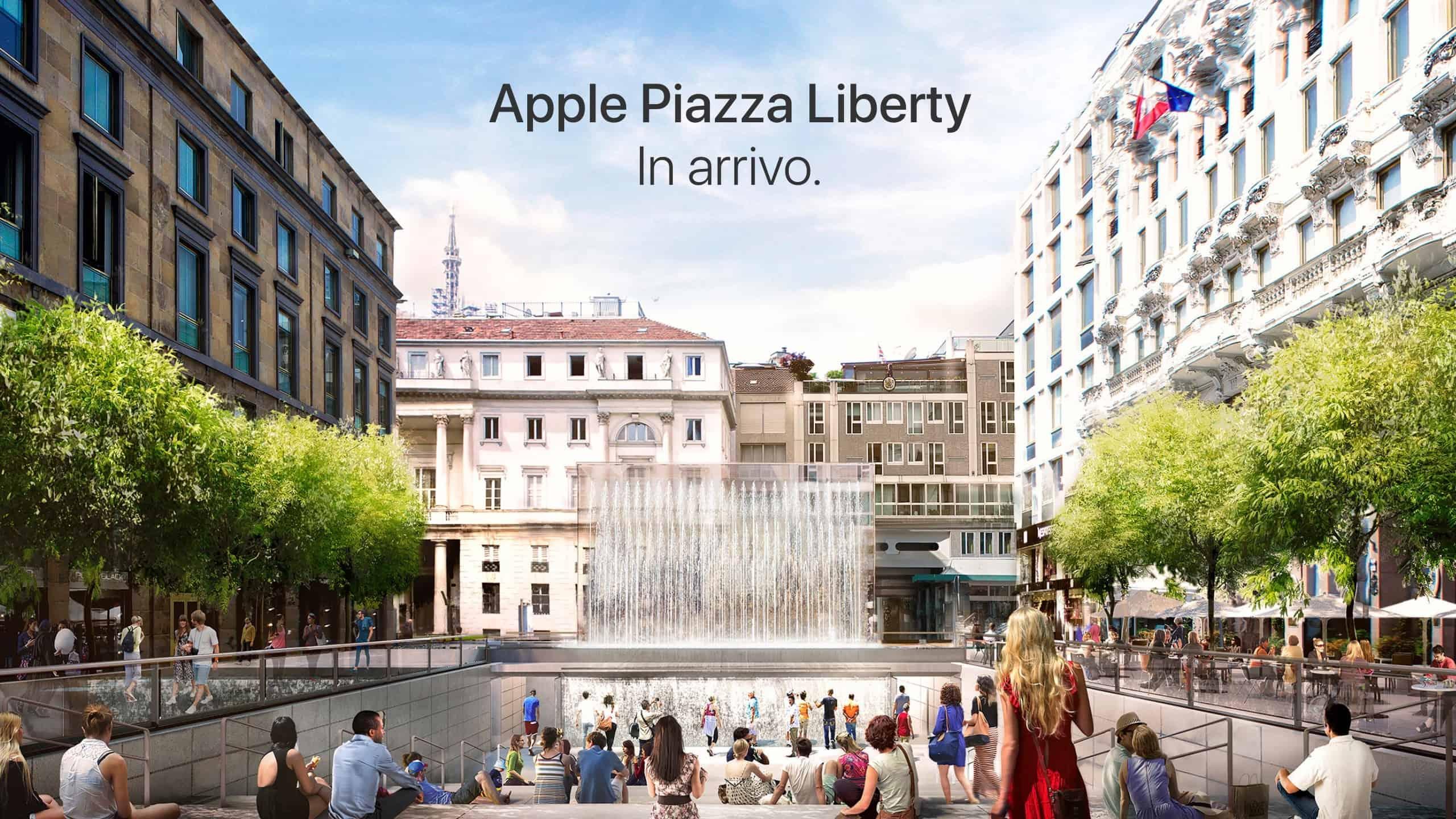 Apple presenterar sin nya italienska butik