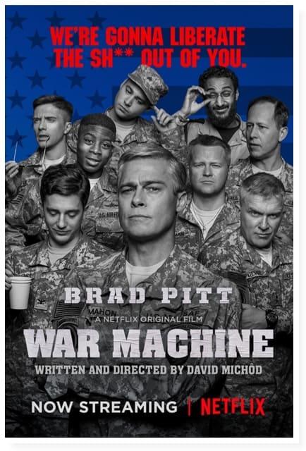 War Machine lyfter aldrig