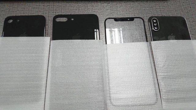 Är det här delar från nya iPhone 8?