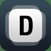 En minimalistiskt designad texteditor