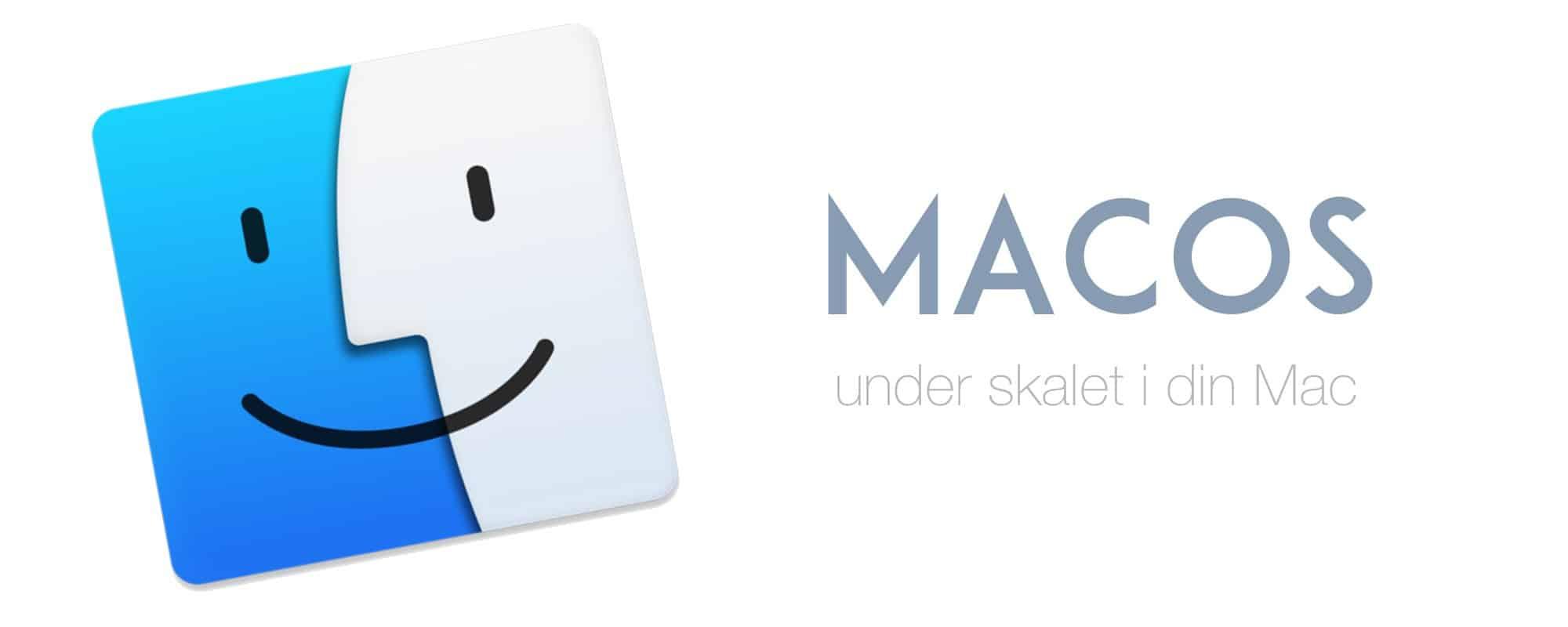 Det här är nytt i macOS High Sierra