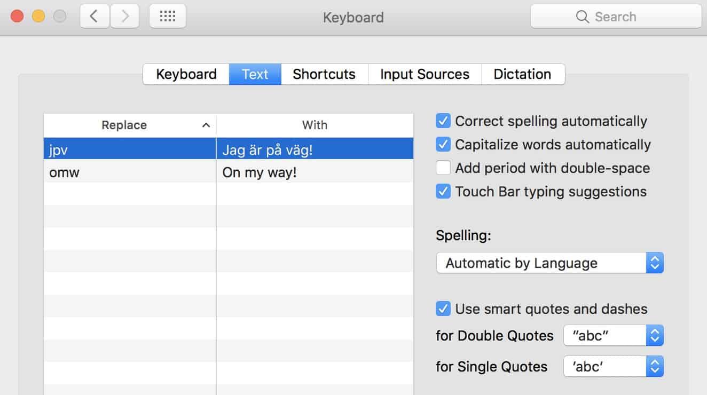 Så slår du på automatiskt rättstavning i din Mac