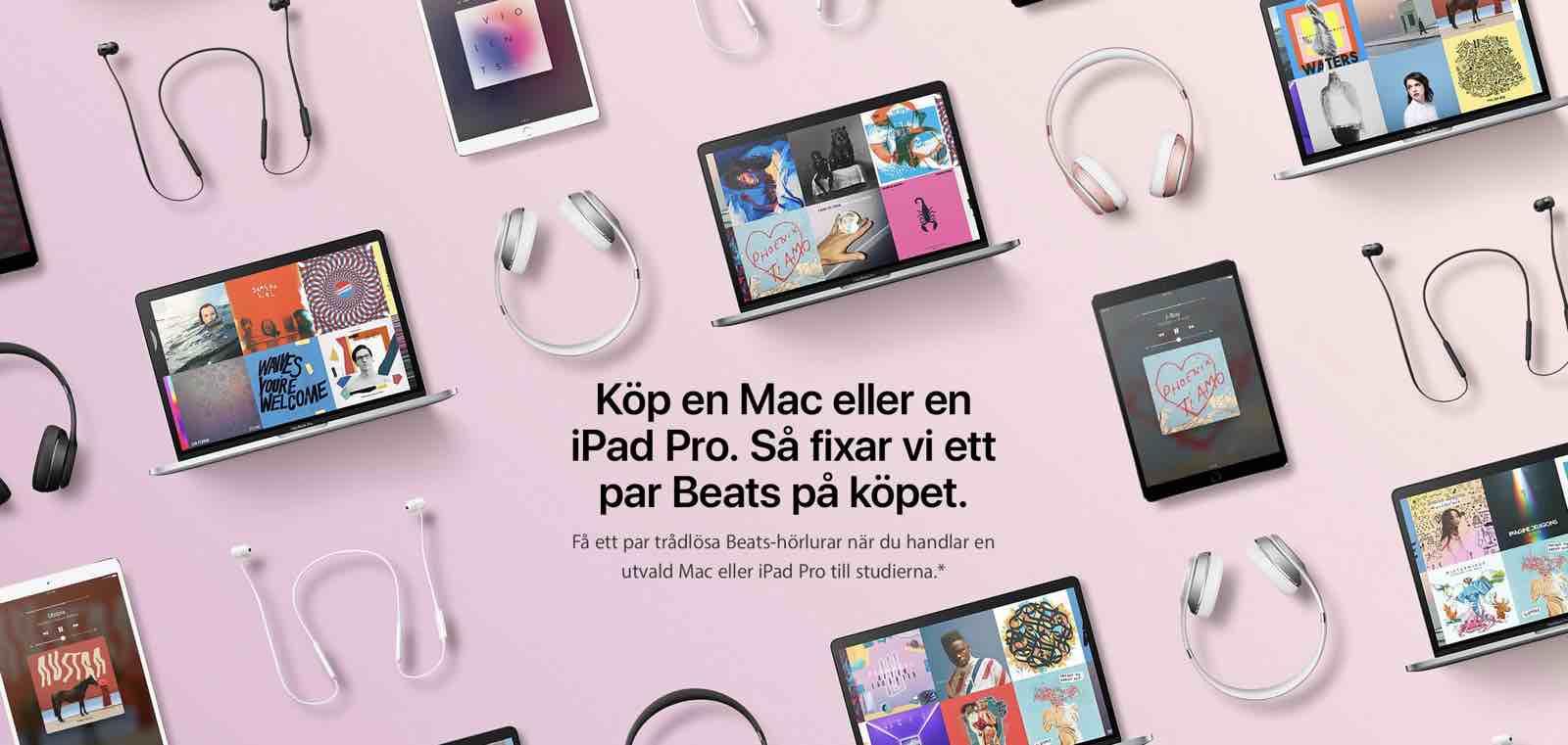 Nu kommer Apples skolkampanj till Europa