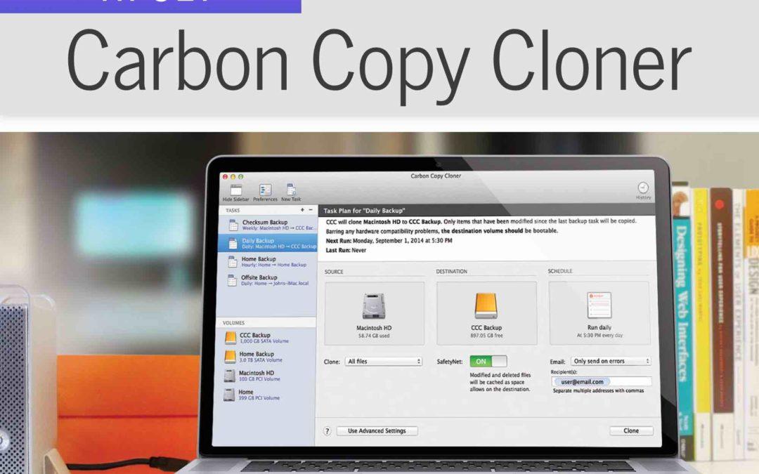 Smidiga kopior med Carbon Copy Cloner