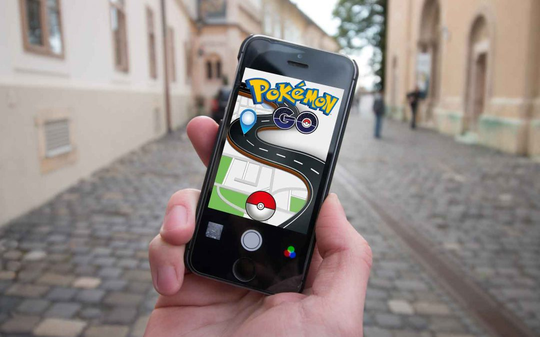 Pokémon GO:  Ut och samla godis!
