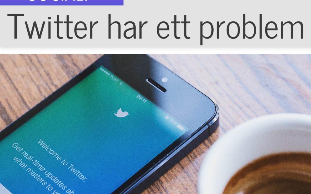 Twitter klarar inte av att hantera attackerande bottar