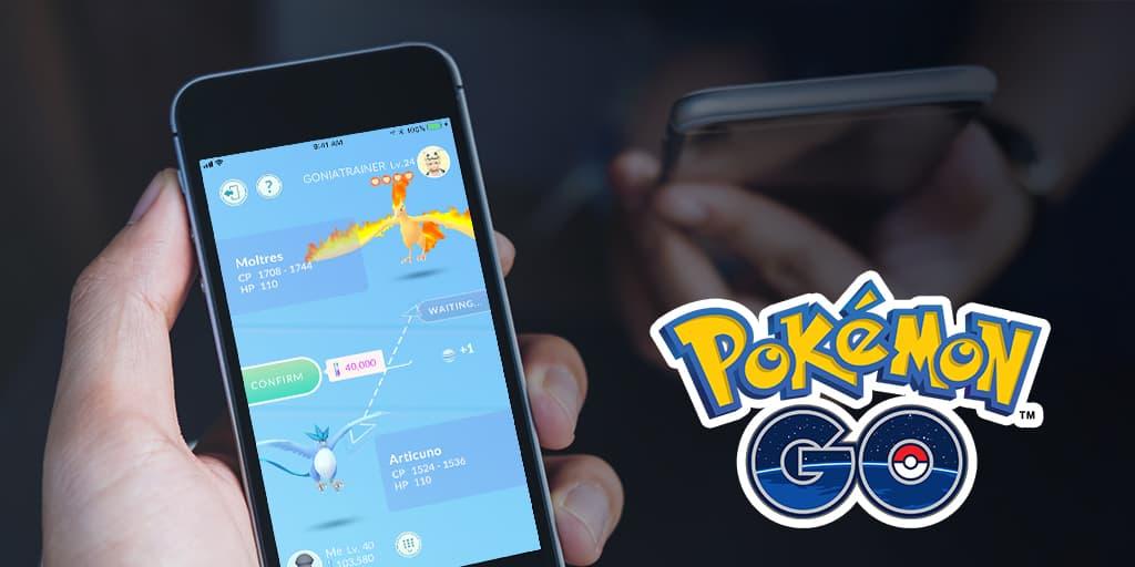 Pokémon GO:  Snart kommer bytesfunktion i Pokémon GO