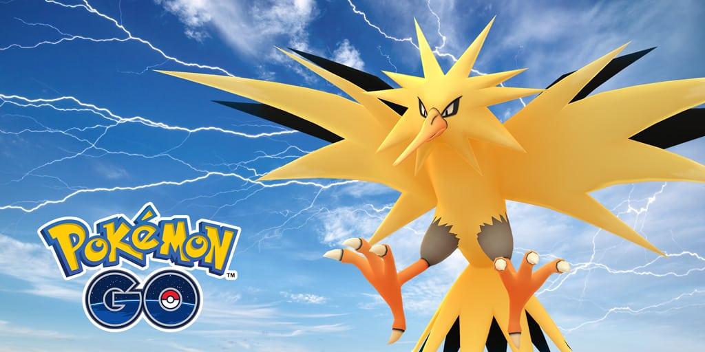 Pokémon GO: Den 21 juli är Zapdos Day