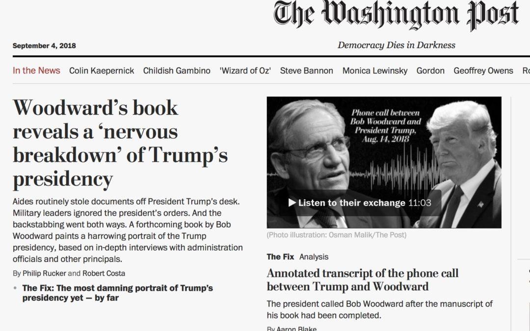 Woodwards bok avslöjar en administrativ statskupp