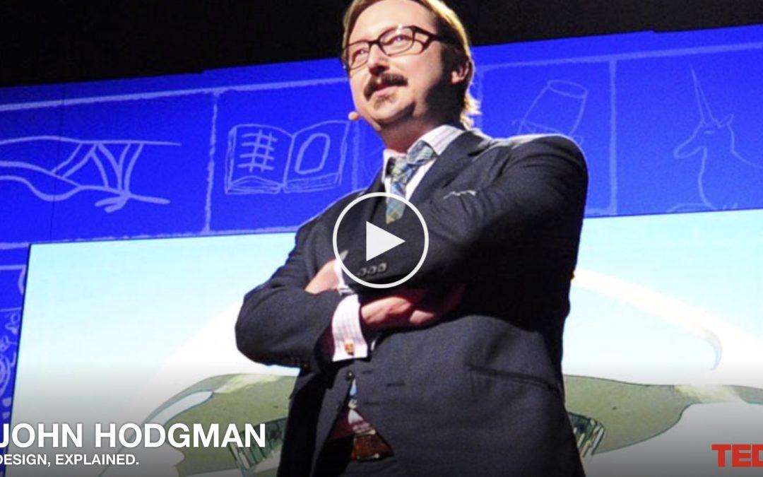 På Lunchen: John Hodgman förklarar det här med design