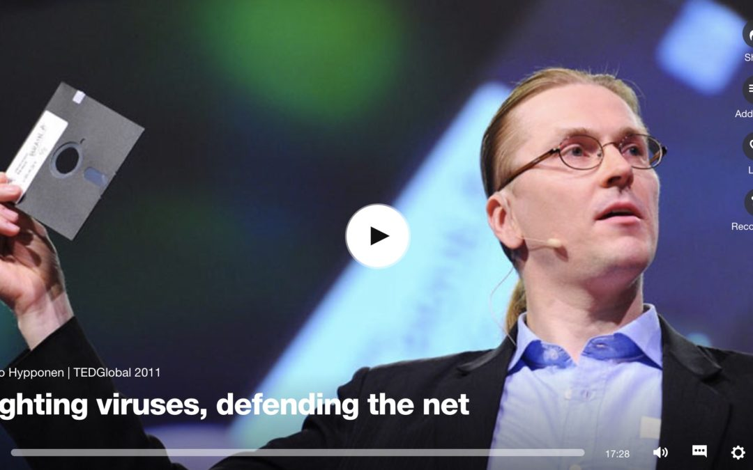 På Lunchen: Jaga datavirus och försvara nätet