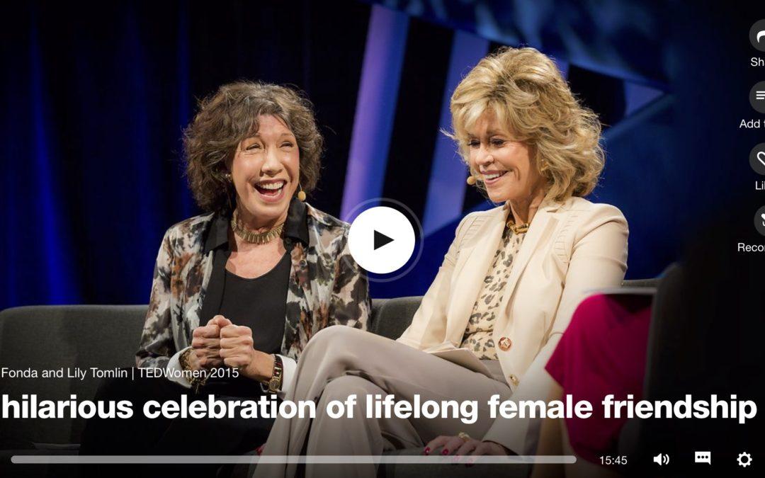 På Lunchen: En härlig hyllning till långvarig kvinnlig vänskap