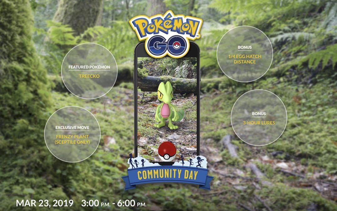 Pokémon GO: Dags att jaga Treecko den 23:e