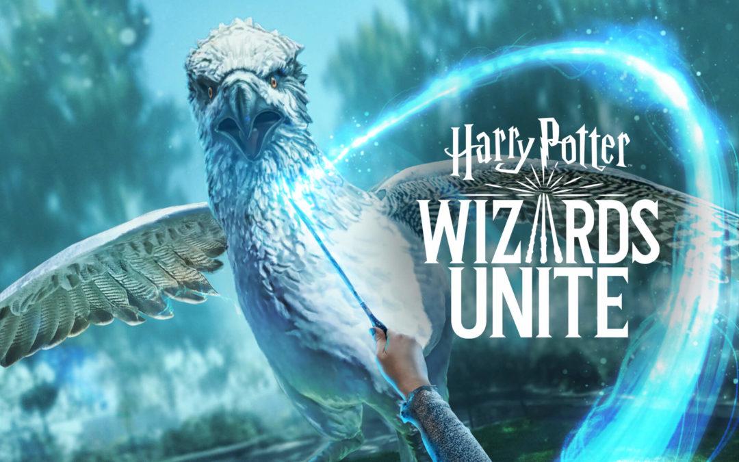 Här är bilderna ur Niantics spel med Harry Potter