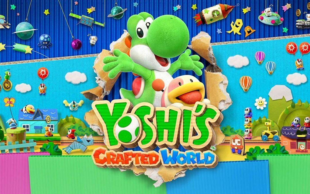 Nintendo Switch: Nu kan du ladda ned Yoshi's Crafted World demo