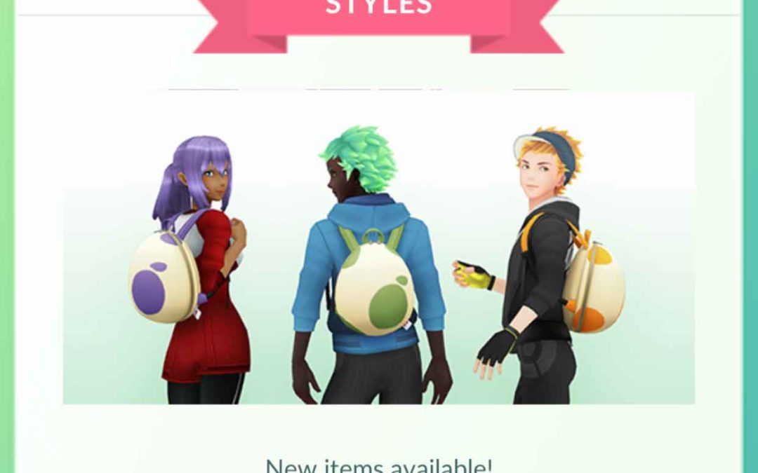 Pokémon GO: Vad sägs om en ryggsäck formad som ett ägg?