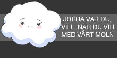 Jobba var du vill, Nordic du vill med vert moln!!