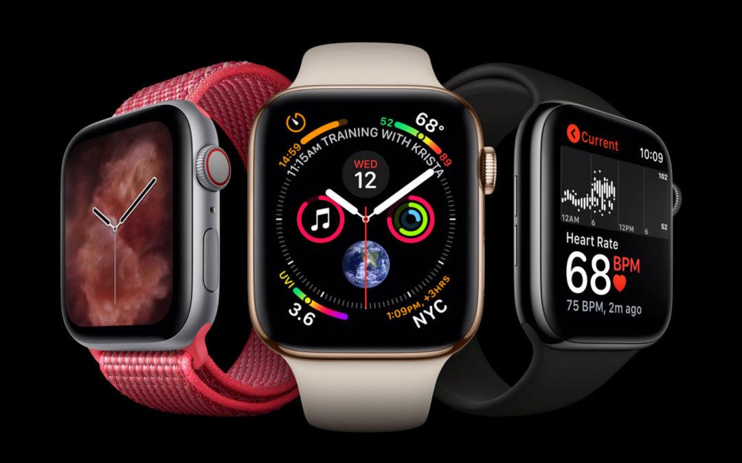 Apple Watch som skärmsläckare