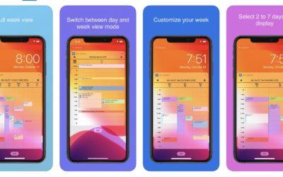 Apptipset: Vecko-kalender på låsskärmen med Week Calendar