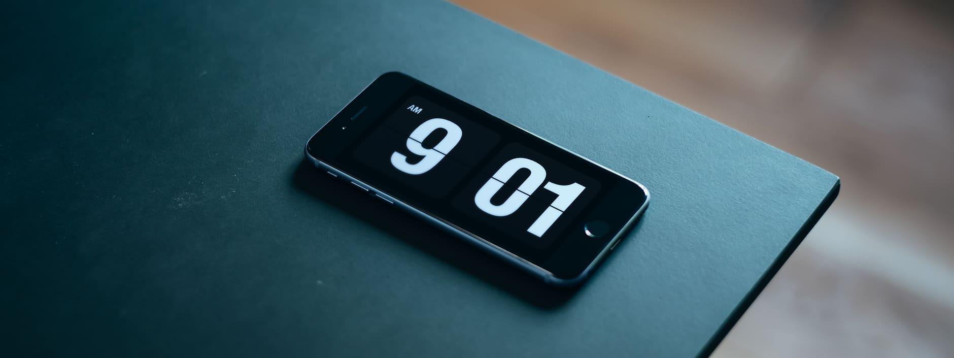 Skärmsläckare: FlipClock – klassisk klocka där siffrorna ramlar ned