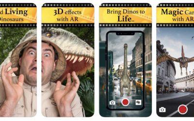Gratistipset: Förvandla din värld till Jurrasic Park – Jurassic AR Magisk Kamera