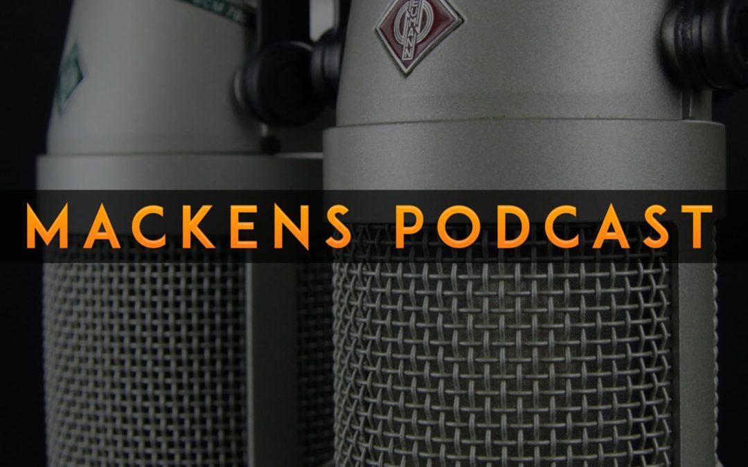 Mackens PodCast 0-2020: Hemlig Avlyssning och mer skärmyta i din bärbara Mac
