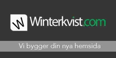winterkvist.com - när du vill ha en enda leverantör av dina digitala tjänster!