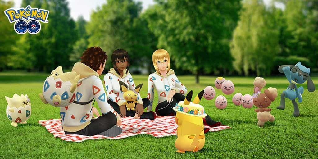 Pokémon GO: Nu kommer det kaniner med blommor i håret