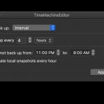 Gratis är gott: Time Machine Editor – ställ in när du vill göra dina säkerhetskopior