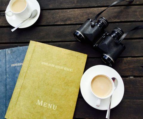 binoculars-breakfast-caffeine-128424