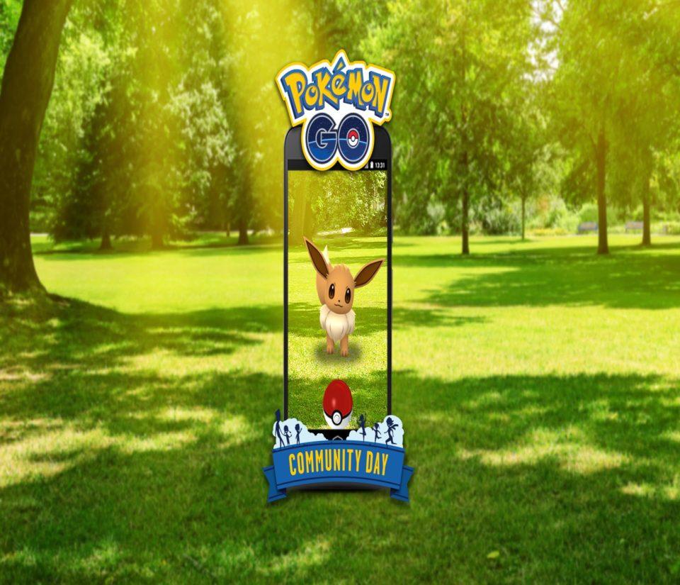 Pokémon GO: Nästa Community Day handlar om Evee